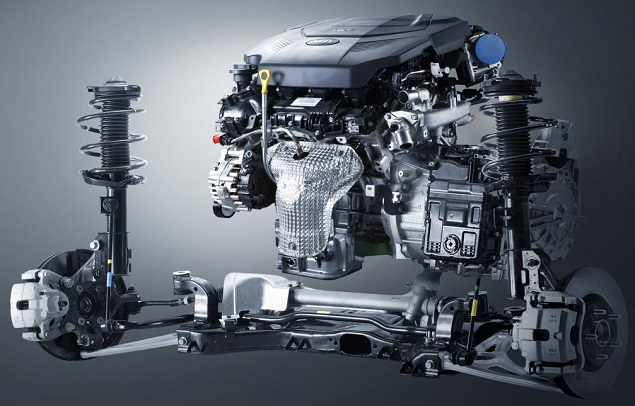 READY TO LAUNCH: Kia has developed an eight-speed gearbox that is smaller and lighter than a six. Image: Newspress/Kia Motors