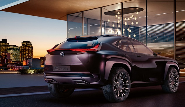 LEXUS FOR PARIS: This concept, the UX, willl be on show in Se[tember 2016.  Image: Newspress/Lexus