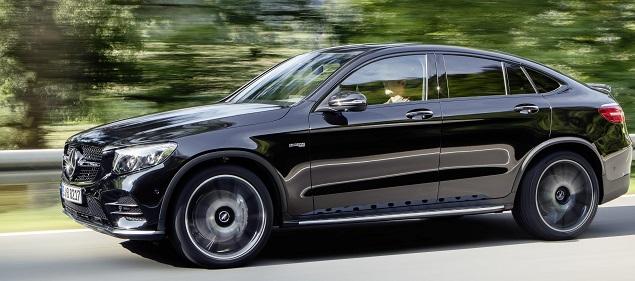 GLC 43 4Matic Coupé. Image: Mercedes-AMG