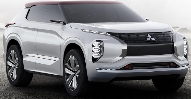 BOLD CAPS: Mitsubishi concept for Paris 2016 Image:: Newspress/Mitsubishi
