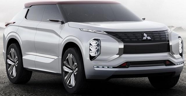 BOLD CAPS: Mitsubishi concept for Paris 2016 Image:: Newspress/Mitsubishi