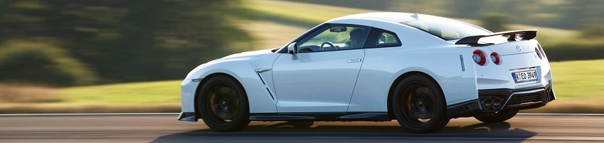 2017 Nissan GT-R Track image: Newspress/Nissan