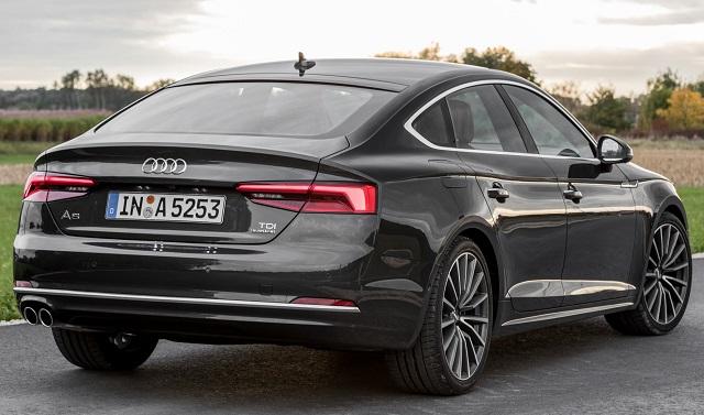 Audi A5/S5 Coupes in UK showrooms Image: Audi UK / Newspress