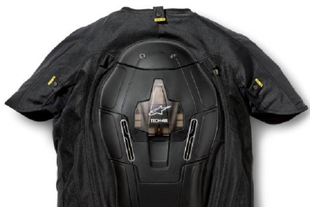THE CRASH-BAG VEST: Image: BMW Motorrad