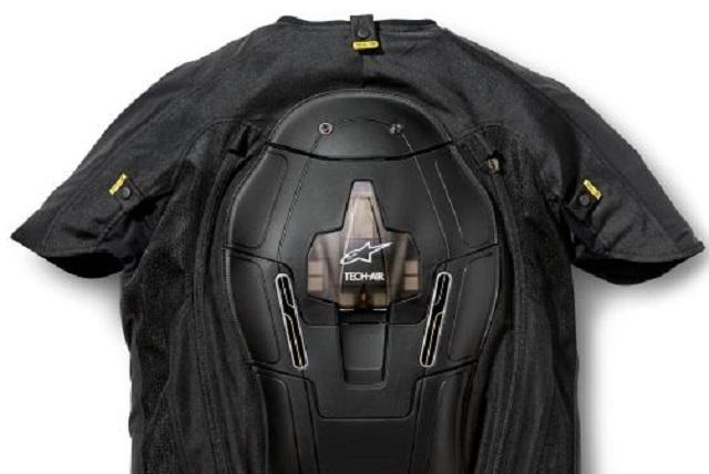 THE CRASH-BAG VEST: Image: BMW Motorrad