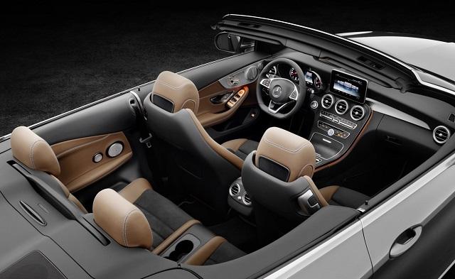 2016 C-CLASS CABRIOLET: Image: Mercedes-Benz SA / Quickpic