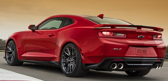 2017 Chevrolet Camaro Image: Chevrolet / Newspress