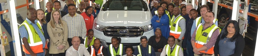 Ford Everest production starts in South Africa