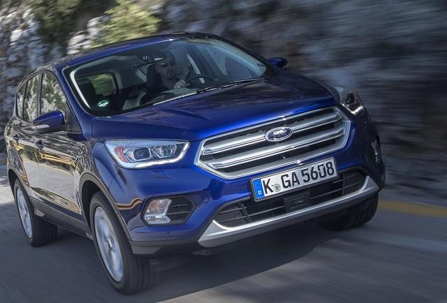 2017 Ford Kuga Image: Ford / Newspress