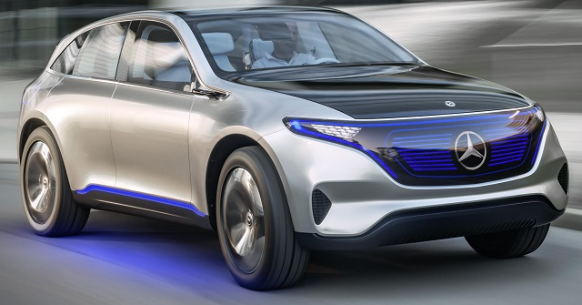 MERCEDES GENERATION EQ: Image: Newspress/Mercedes-Benz