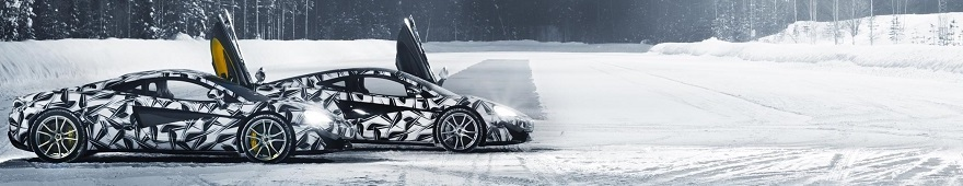 ICE-DRIVING WITH McLAREN: Newspress/Mc:Laren