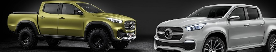 THE MERC X-TRUCK: Image: Mercedes-Benz / Newspress