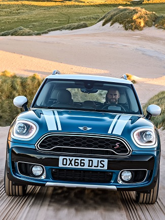 BIGGEST MINI YET: It's the new Countryman, the first Mini with hybrid drive. Image: Mini/BMW UK