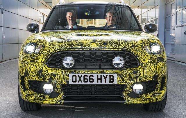 HYBRID MINI TESTED: Image: BMW/Mini/Newspress