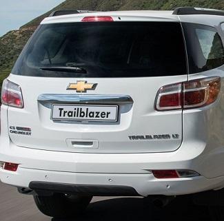 2017 Chevrolet Trailblazer. Image: GM