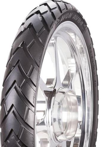 UP FRONT: ~The new Avon TrekRider front tyre. Image: Newspress/Avon Tyres