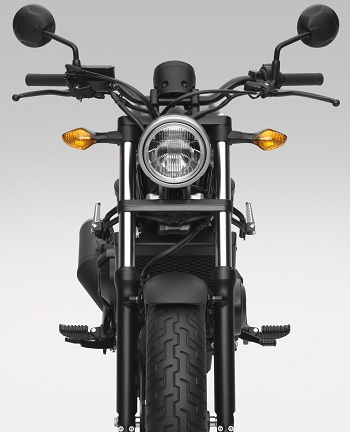 2017 Honda-Rebel Image: Honda Motorcycle