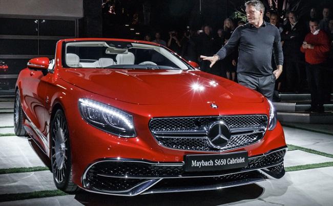 2017 MACYBACH 650 CONVERTIBLE. Image: Mercedes-Benz