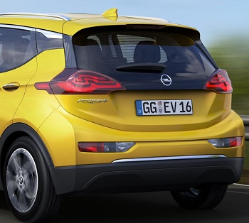 Opel Ampera. Image Opel