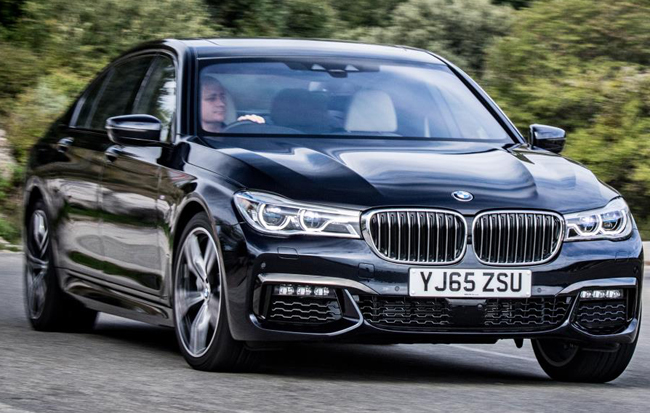 CHAUFFEUR CAR OF 2016: BMW's 7 Series diesel has taken the award with most votes from a panel of professional drivers and journalists. Image: BMW / Newspress