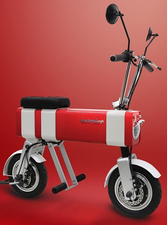 CIGARETTE LIGHTER ON WHEELS: The latest idea for easy urban personal transport. Image: Supplied