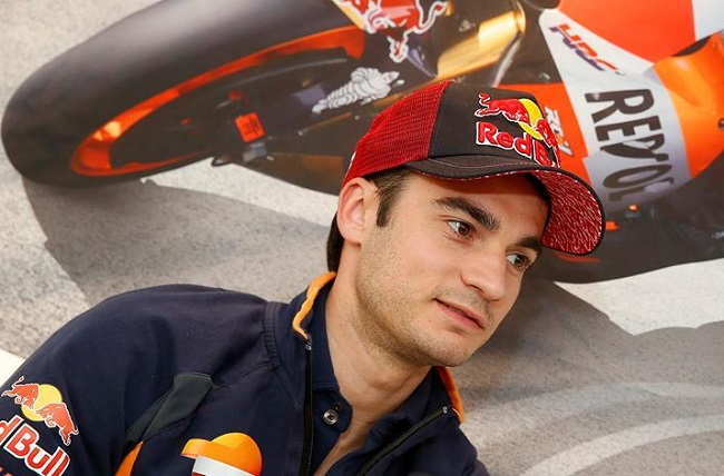 DANI PEDROSA: All set, despite recent crash, to race at Valencia MotoGP. Image: Facebook
