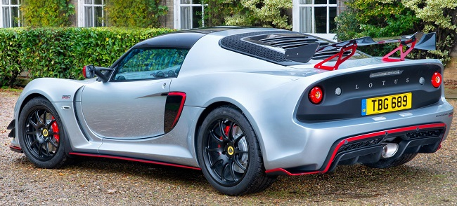 2017 LOTUS EXIGE: Images: Lotus / Newspress