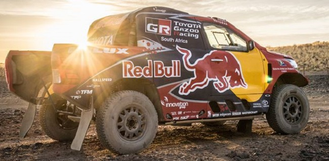 Toyota Hilux Dakar 2017 Images: Toyota SA
