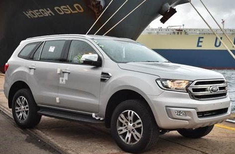 EVEREST HEADS FOR KILIMANJARO: This is the first South African-built Ford of modern times to be exported into Africa. Image: Ford SAEVEREST HEADS FOR KILIMANJARO: This is the first South African-built Ford of modern times to be exported into Africa. Image: Ford SA