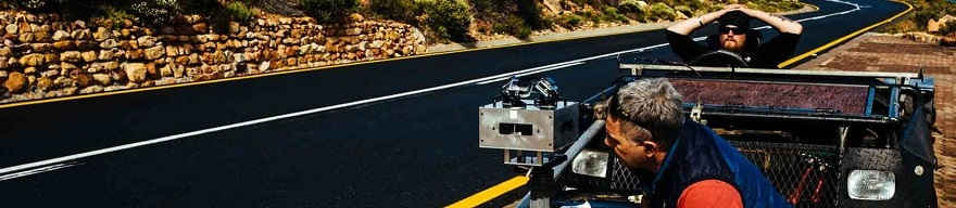 MERCEDES-BENZ VIRTUAL REALITY: Filming on the False Bay coast near Cape Town. Image: MB-SA