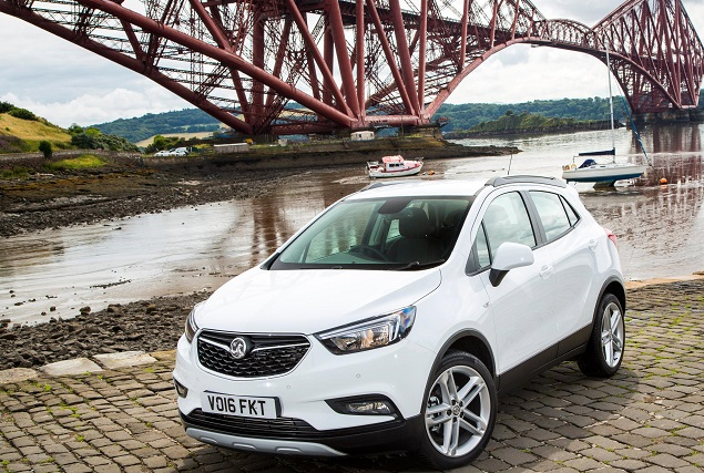 Opek Mokka-X. Image: Opel