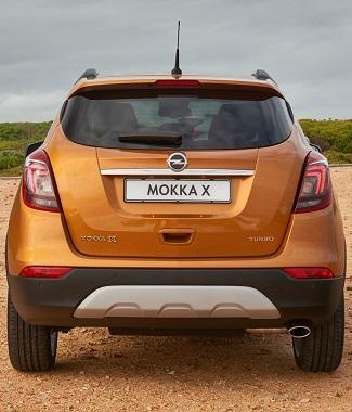 2017 Opel Mokka X - Image: GMSA