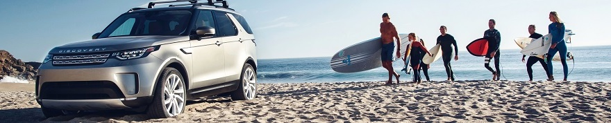 MAKING WAVES: LA Surfers Experience New Land Rover Discovery ahead of US premiere