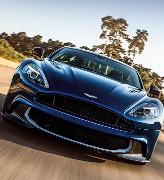 2017 Aston Martin Vanquish Image: Newspress / Aston Martin
