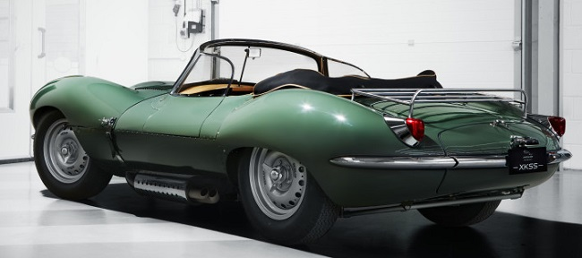 RE-BORN JAGUAR XK SS: Images: Jaguar Land Rover