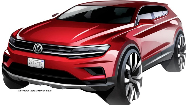 2017 VW TIGUAN: Image: VW/Newspress