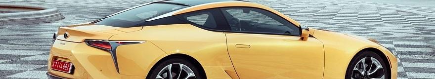 2017 LEXUS LC COUPE: Image: Lexus / Newspress