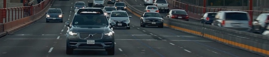 UBER GOES AUTONOMOUS IN LA: Image: Lexus / Newspress