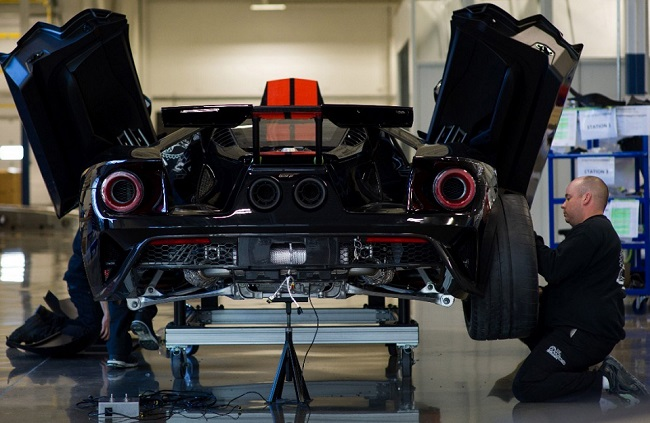 2017 Ford GT Image: Ford Canada / Newspress