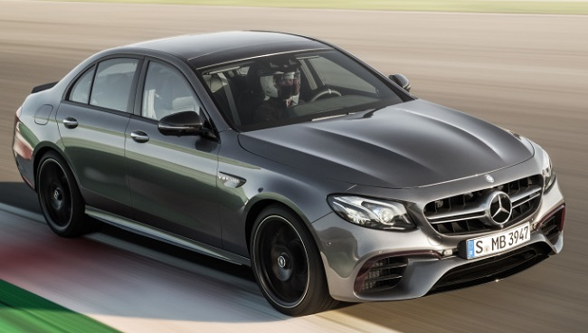 LATEST E-CLASS FROM AMG: Image: Mercedes-AMG