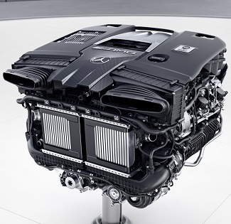 LATEST E-CLASS FROM AMG: Twin-turbo V8 not only a work of art but also the most powerful yet to be squeezed into an E-Class. Image: Mercedes-AMG
