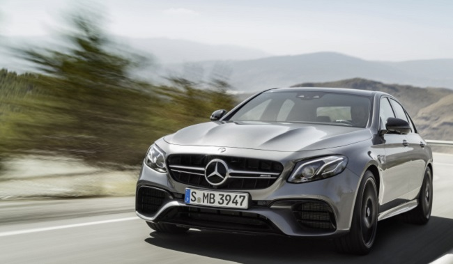 BRAINS AND BRAWN: This is not only the most intelligent E-C;ass executive saloon but also the most powerful yet - the next generation of the E63 4Matic+ and E63 S 4Matic+. Image: Mercedes-AMG