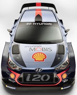2017 HYUNDAI i20 WRC CAR: Image: Hyundai / Newspress