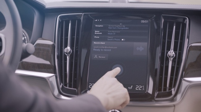 Lllll lllll lllll img_2602 Volvo S90 goes 'talk-and-drive'