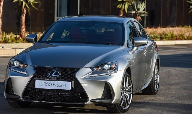 2017 LEXUS 350is Image: Lexus / Newspress