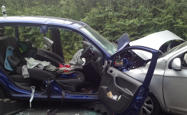 SUDDEN IMPACTS: The first is the actual crash, the second the pain caused to families who lose loved one. Some in the UK was maximum pain for those who cause such collisions. Image: Google;