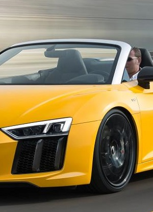 BIG WHEELS: The 2017 Audi V10 R8 will ride on 19