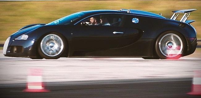 BOYS' TOYS: Bugatti Veyron goes up against Croatian dragon.