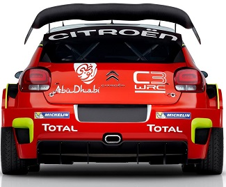 2017 CITROEN WORLD RALLY CAR. Image: Citroën / Newspress