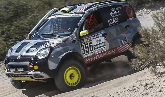 Fiat Panda completes 2017 Dakar Rally Image: Fiat
